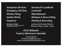 MAINTENANCE SPECIALIST OVER 15 YEARS EXPERIENCE