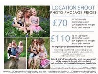 Location Shoots - Professional Photography Packages