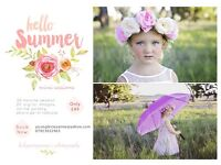 Hello Summer Mini Sessions - Only £49!!
