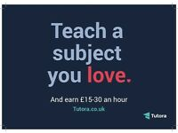 Private Tutors & Teachers Wanted - Maths/English/Science/French/Spanish/Guitar/Violin