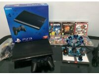 Sony PS3 12GB Super Slim Console With Lego Dimension Starter Pack