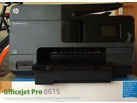 Hewlett Packard HP Officejet 8615 All-in-one Printer Scanner Copier Colour Inkjet