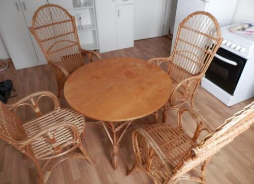 Rattan Korb Möbel Stühle Und Tisch In Sachsen Pirna Ebay