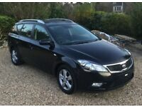 2012 , Kia , Ceed , estate , 1600cc , diesel , manual 6 speed , £30 a year road tax , only 42k , fsh