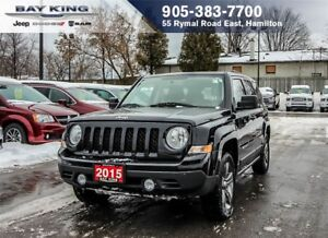 2015 Jeep Patriot HIGH ALTITUDE 4X4, SUNROOF, HEATED SEATS, BLUT