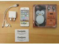 iPhone 5s, 16GB, Unlocked, Good Working Order, Charger, Case and Headphones, SWAPS