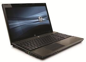 HP Probook 4520s 15.6 Intel Core i3 2.4 GHz Win 10 Pro + Office Pro
