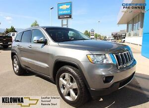 2011 Jeep Grand Cherokee Overland | Leather | Sunroof | Remote S