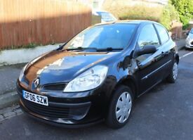 Renault Clio Expression 2006. 3 Door. 1149 CC. Petrol. Great condition. Currently 119,820 miles