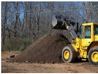 Screened top soil delivered on tipper 2 ton +