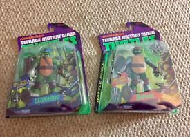 Teenage Mutant Ninja Turtles Battle shell. (Pair)