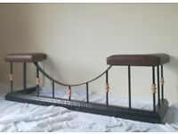 Wrought Iron Club Fender (Fireplace)