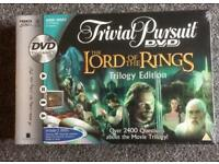 Trivial pusuit lord of the rings version