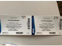 2x LCD Soundsystem - All Points East VIP tickets