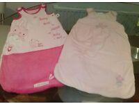 baby sleepieng bags pink 0-6 months