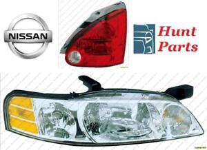 Nissan Head Lamp Tail Taillamp Headlamp light Fog Mirror Phare Avant Arrière Antibrouillard Lumière Brouillard Miroir