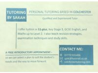 Tuition in 11-plus, Key Stage 3 and GCSE English