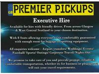 Premier Pickups Corporate Travel at Taxi rates