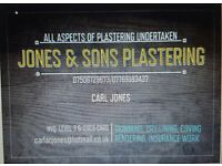 JONES & SONS PLASTERING Moston, Manchester FULL PUBLIC LIABILITY INSURANCE