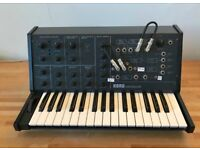Korg MS-10 semi-modular Classic Analogue Synth 1970's