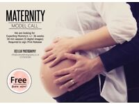 Model call maternity photography