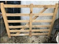 "wooden garden fencing/hurdle/garden trellis or possible gates 48"" W x37"" H 5 available £20 each"