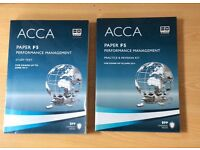 ACCA paper F5 study, practice & revision kit