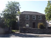 SITUATED IN CORNISH VILLAGE, SHORT DRIVE TO BEACH - SPACIOUS 4 BED HOUSE WITH ENCLOSED GARDEN.