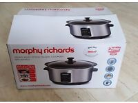 Morphy Richards Sear and Stew Slow Cooker 48701