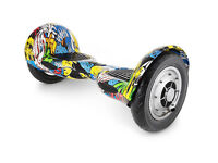 NEW SMART10 SMART 10 INCH 10INCH ELECTRIC BLUETOOTH BALANCE WHEEL BOARD UK (GRAFFITI - STREET HIP)
