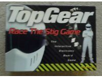 TOP GEAR RACE THE STIG GAME - IN AS NEW CONDITION