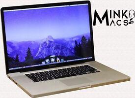 " 17"" Apple MacBook Pro 2.2Ghz i7 Quad Core 8gb 750GB Logic Pro X Final Cut Pro X Adobe CS6 Ableton"