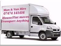 MAN & VAN (BIRMINGHAM) - HOUSE/FLAT/STORAGE MOVES - TRANSPORT ANYTHING
