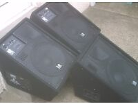 """L2 Audio """" Powered Stage Wedge Monitor PA Speaker"""