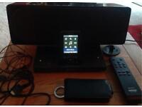 SONY WALKMAN NWZ-A828-8GB-DIGITAL MEDIA PLAYER & SONY DOCKING/CHARGING STATION SPEAKER-REMOTE-VGC