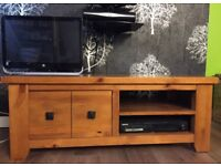 Solid wood Next TV stand