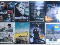 Various DVDs (in English, Danish and Japanese)