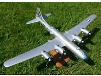 Wood Boeing B29 Superfortress model