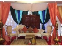 Wedding stage mortocan ,Mandap ,Mehndi