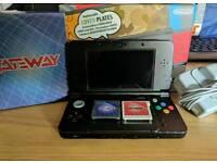 New Nintendo 3DS Black + Gateway extras