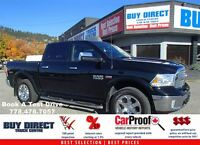 2013 Dodge Ram 1500 Laramie Crew Cab 4X4 - Leather Loaded!