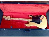 Fender Stratocaster 1977 with case & accessories