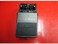 Boss Metal Zone MT-2 Guitar Pedal £40