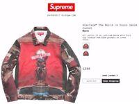Supreme scarface jacket fw17 medium