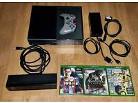 Xbox one 500gb + kinect, controller and games / might swap