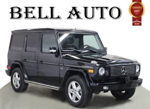 2008 Mercedes-Benz G-Class NAVIGATION SUNROOF REAR CAM