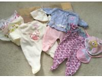 Baby Annabelle Clothes Bundle