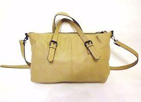 Beige Zara handbag