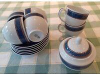 Royal Worcester Henley tea set