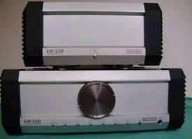 Musical Fidelity KW550 amplifier rrp £6000